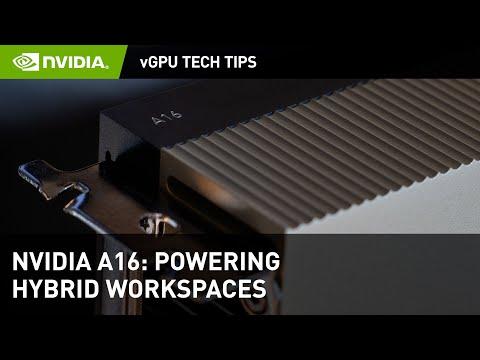 Introductie NVIDIA A16 voor vGPU