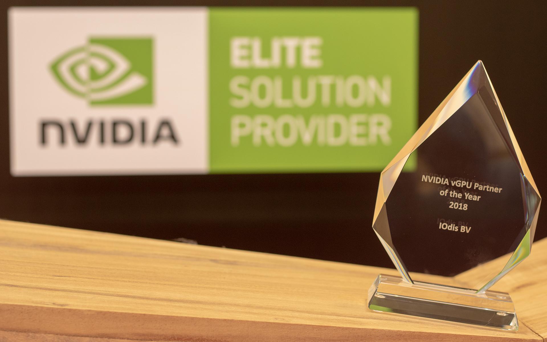 Elite Partner Status & vGPU EMEA Award